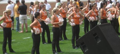 The best dance team in the nation. Don't challenge that statement because it's an argument you will lose very quickly.
