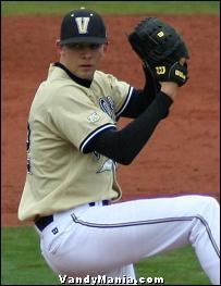 Former Vanderbilt pitcher Mike Minor